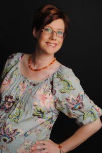 Professional studio photograph of Lucy Yorke